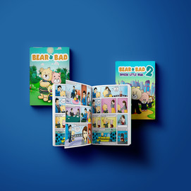 Comic Book illustration and format