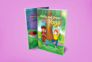 Molly and Omari Learn Yoga by Patricia Brogdon