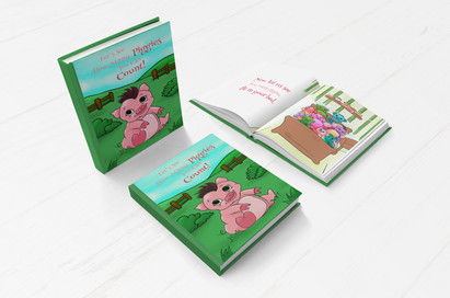 How many piggies?: Counting from 1 to 10 is fun with colorful pigs