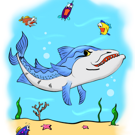 Illustration of a Childrens book