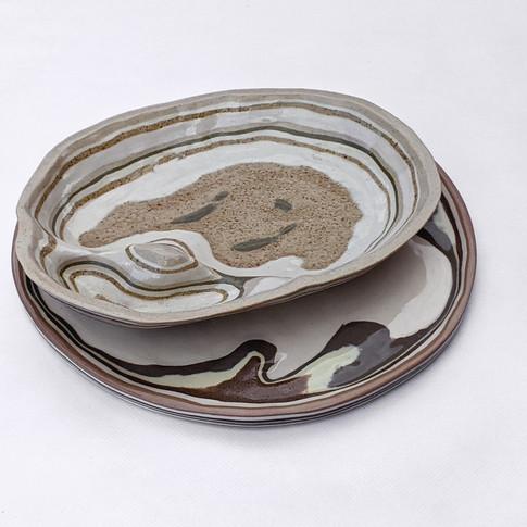 Plato y bowl - Adriana Machado Studio