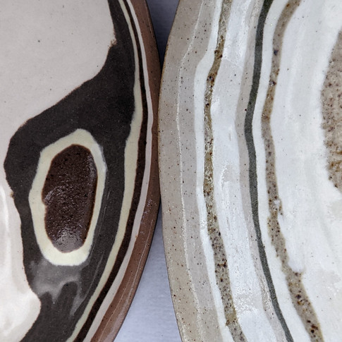 Detalle de platos estratos - Adriana Machado Studio
