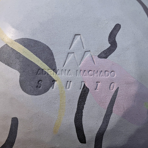 Sello para cerámica - Adriana Machado Studio