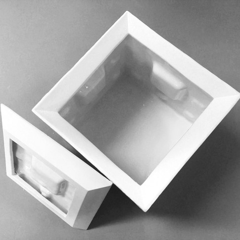 Caja menger fractal - Adriana Machado Studio