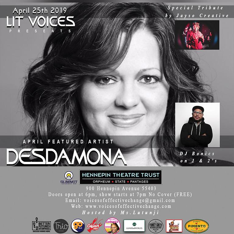 Lit Voices - Desdamona
