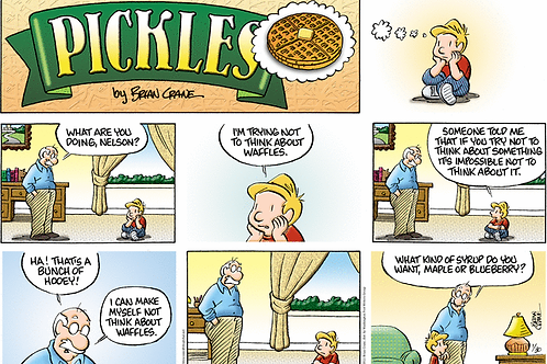 Signed Print of a Pickles Sunday strip