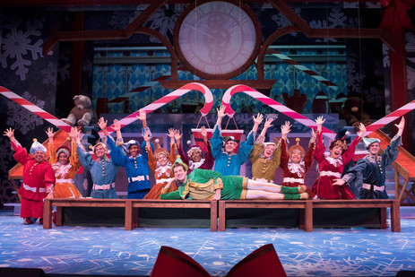"""""""Christmas Town"""" - Elf The Musical"""