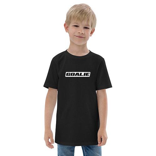 """Goalie"" Youth jersey t-shirt"