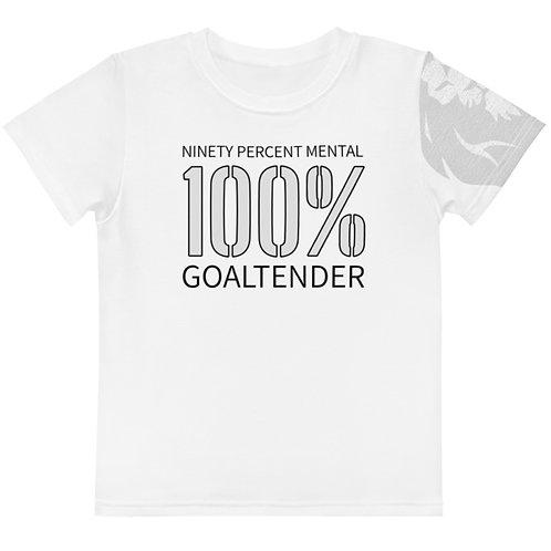 100% Goaltender Kids