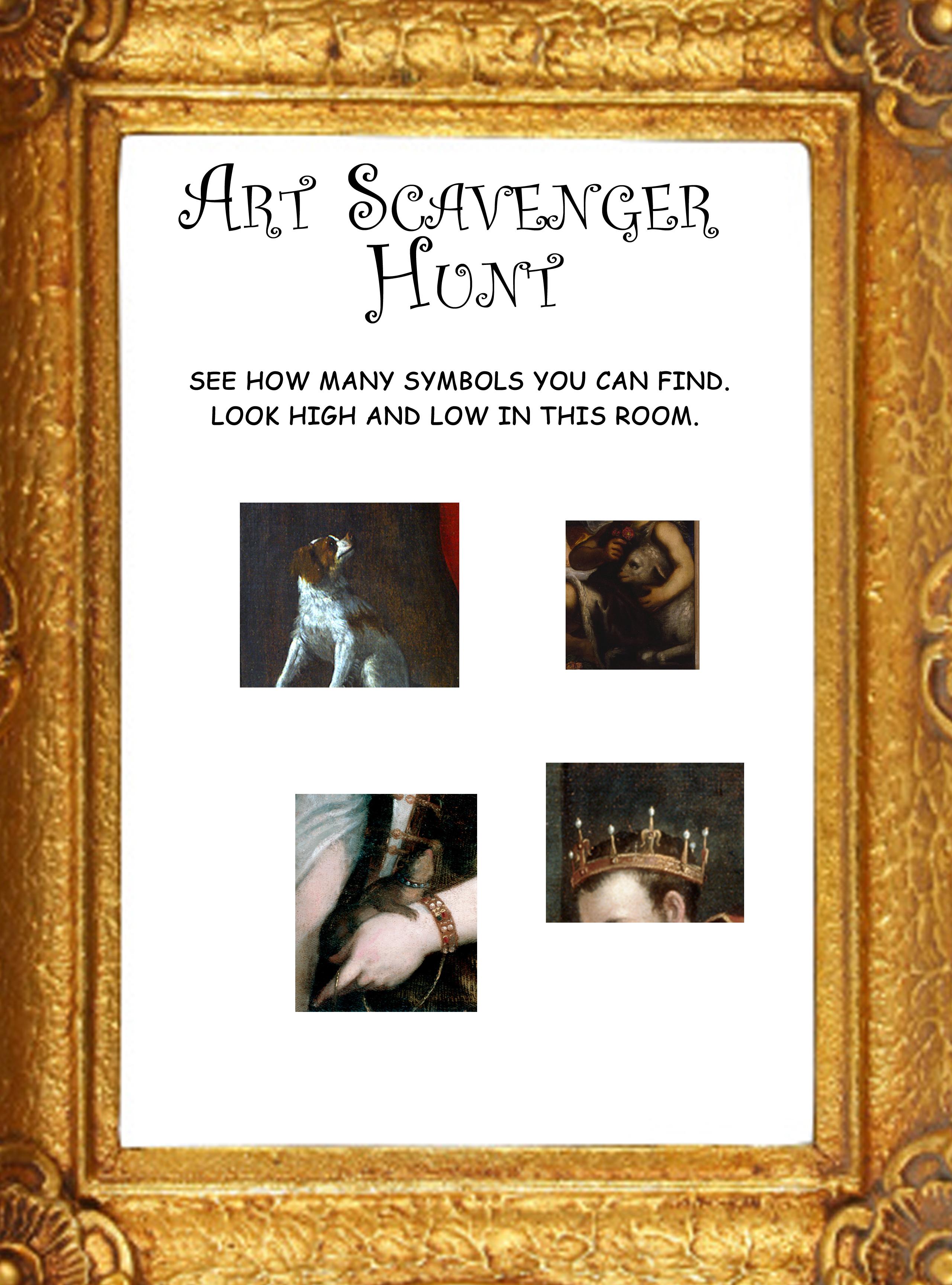 Art Scavenger Hunt