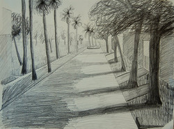 One-Point Perspective by Buu T.