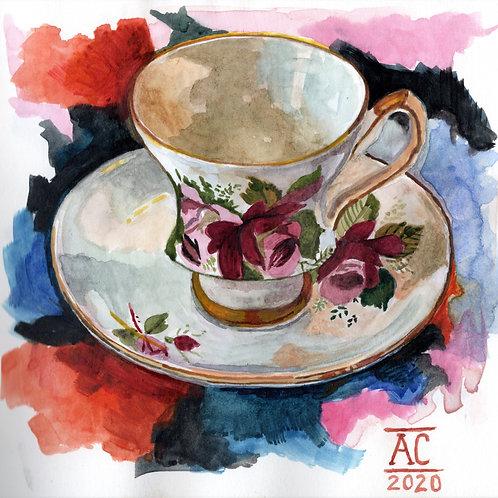 Mabel Rose Teacup