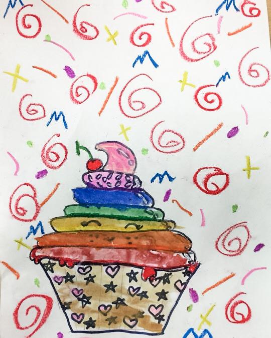 Color Spectrum Cupcakes!
