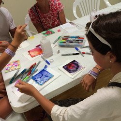 Art Making with Family Visitors