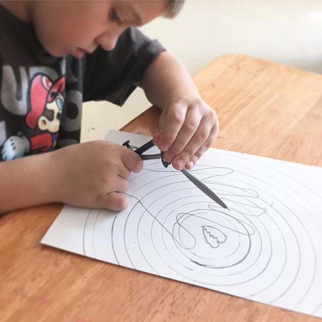 Introduced drawing protractors to fourth