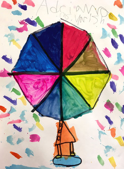 ROY G BIV Umbrellas
