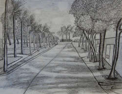 One Point Perspective by Rebecca W.