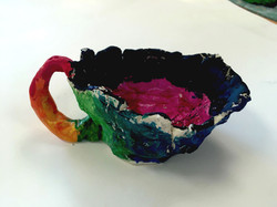 Pinch pots with handles
