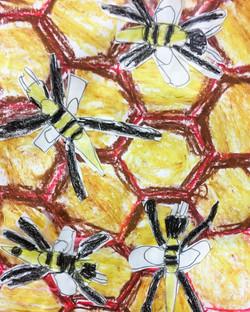 Bee Hexagons