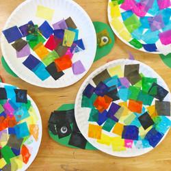 Tissue Paper Turtles