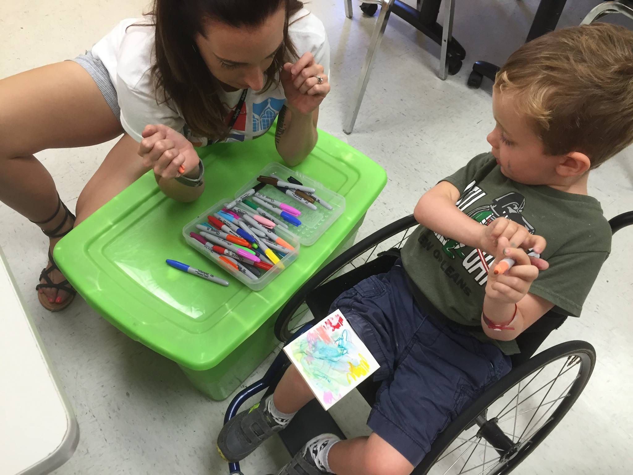 Outreach with Easter Seals