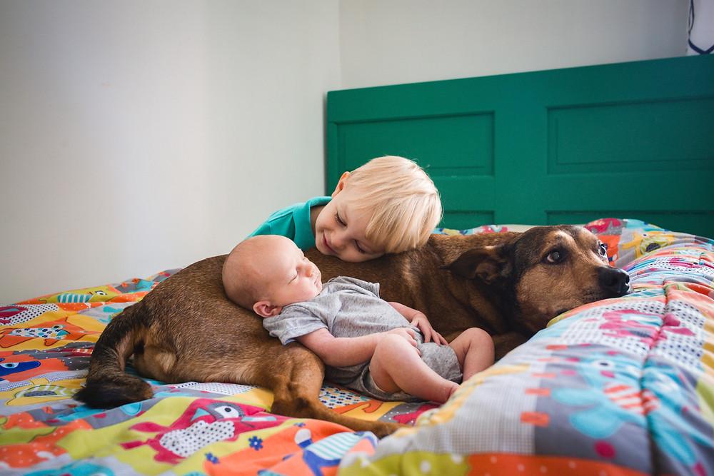 decatur and atlanta lifestyle newborn photographer
