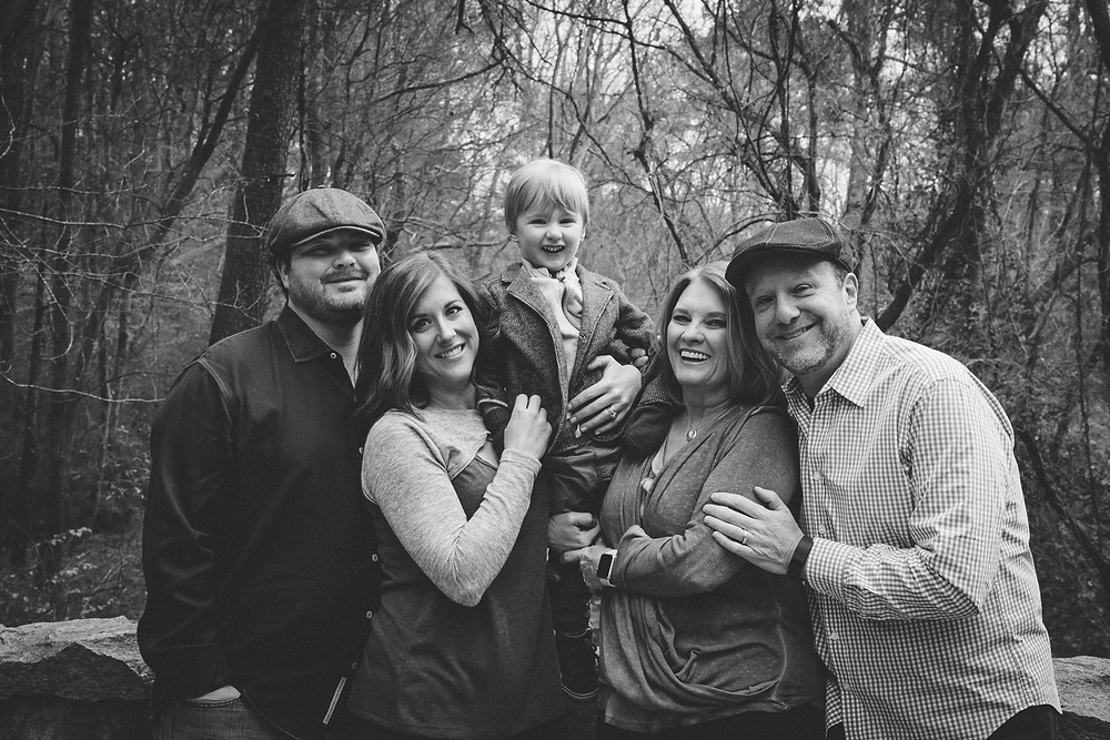 Authentic outdoor family photography in atlanta and decatur.