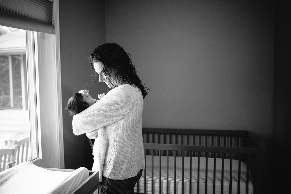 atlanta lifestyle newborn photographer