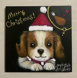 クリスマスわんこ