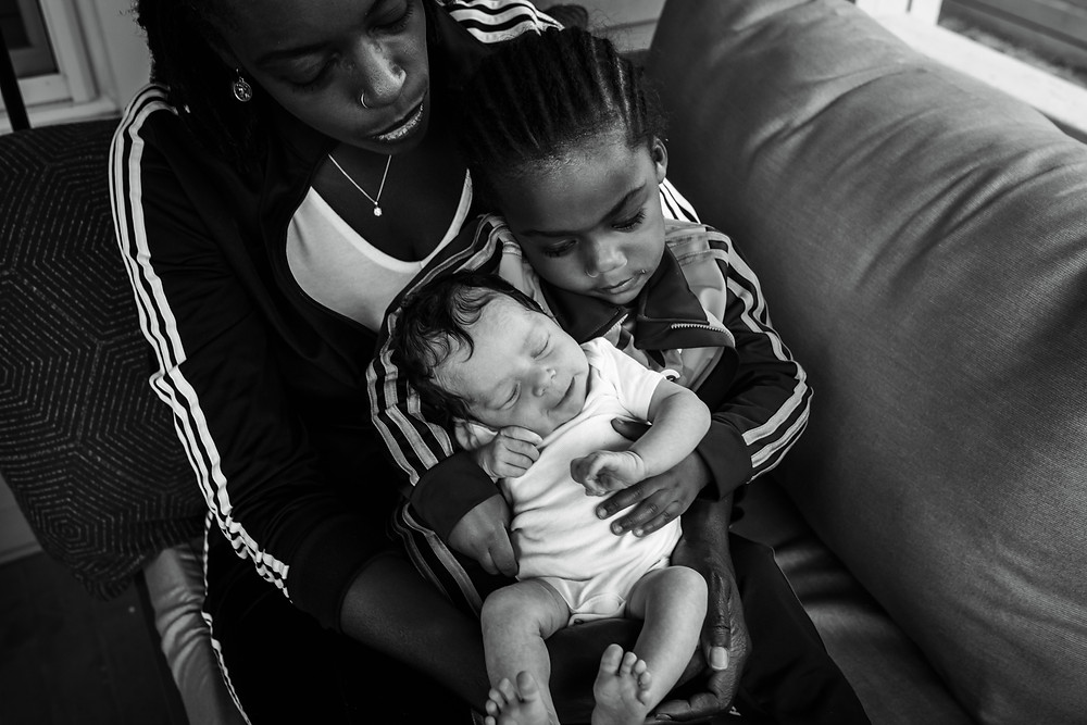 atlanta newborn photos at home