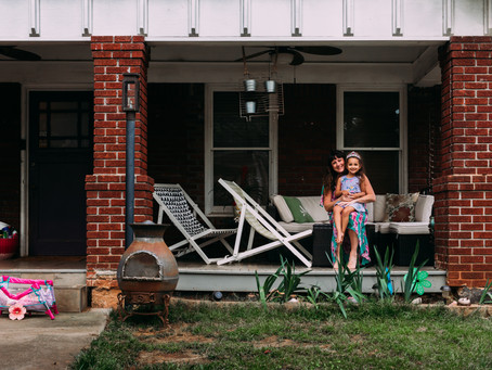 Porch portraits | Atlanta