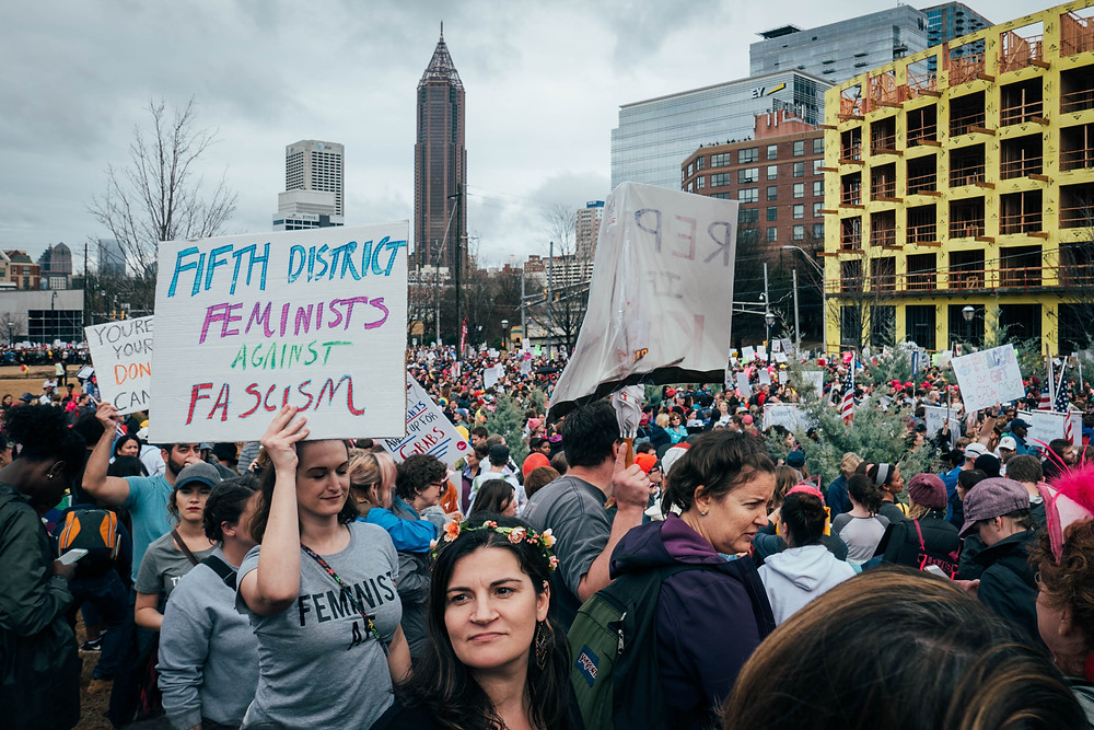 atlanta photographer; women's march 2017