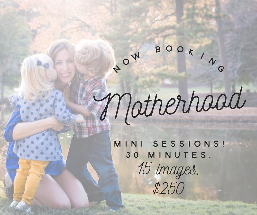 atlanta mothers day mini sessions