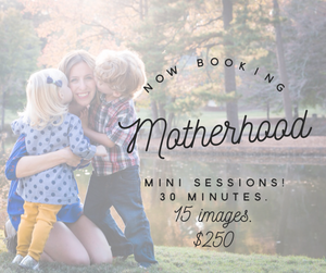 atlanta mothers day mini sessions