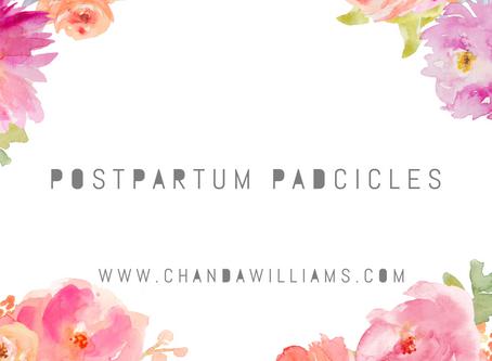 Postpartum Padcicles