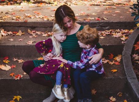 Fall Family Photography | Atlanta | The Thoeles