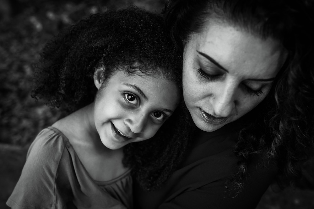 beautiful family photography, mother daughter