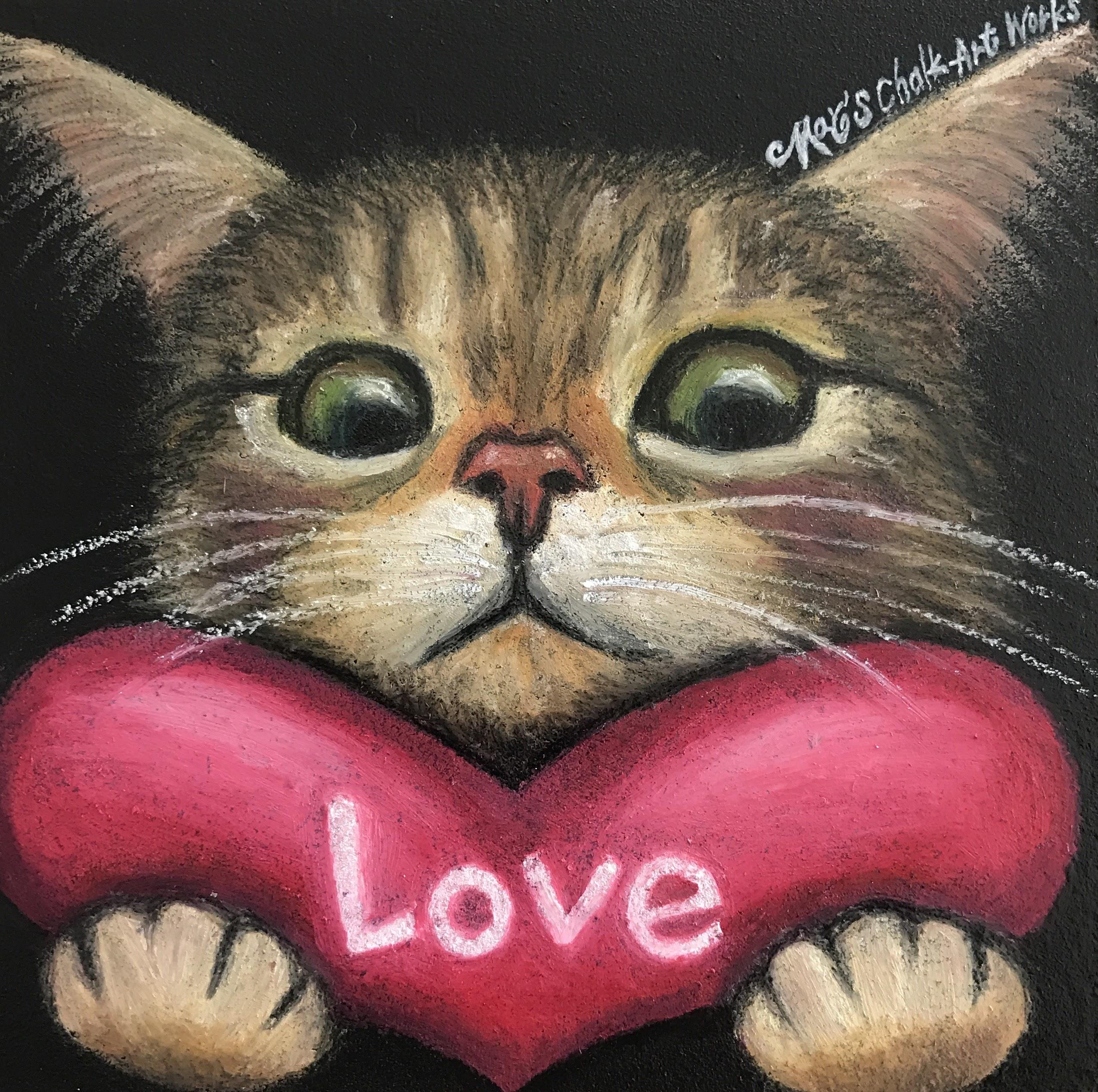 猫バレンタイン