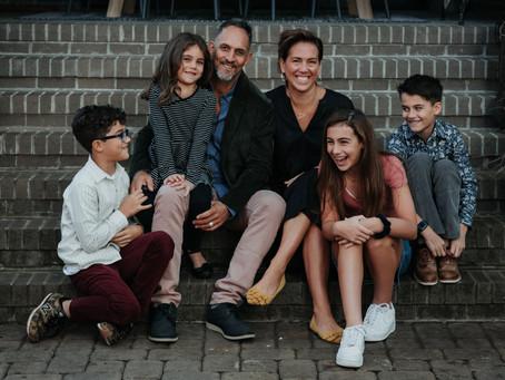 Family Photography at Home | Inman Park Atlanta