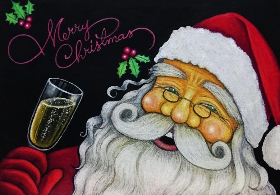 クリスマスサンタA401