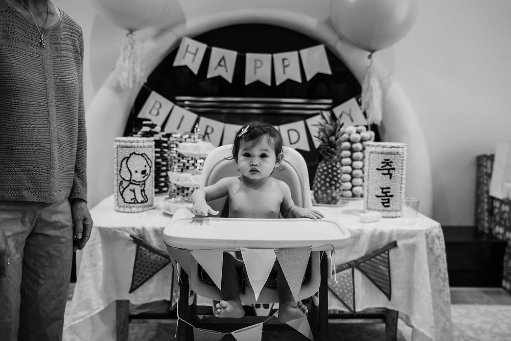 Korean dol Atlanta; baby's birthday