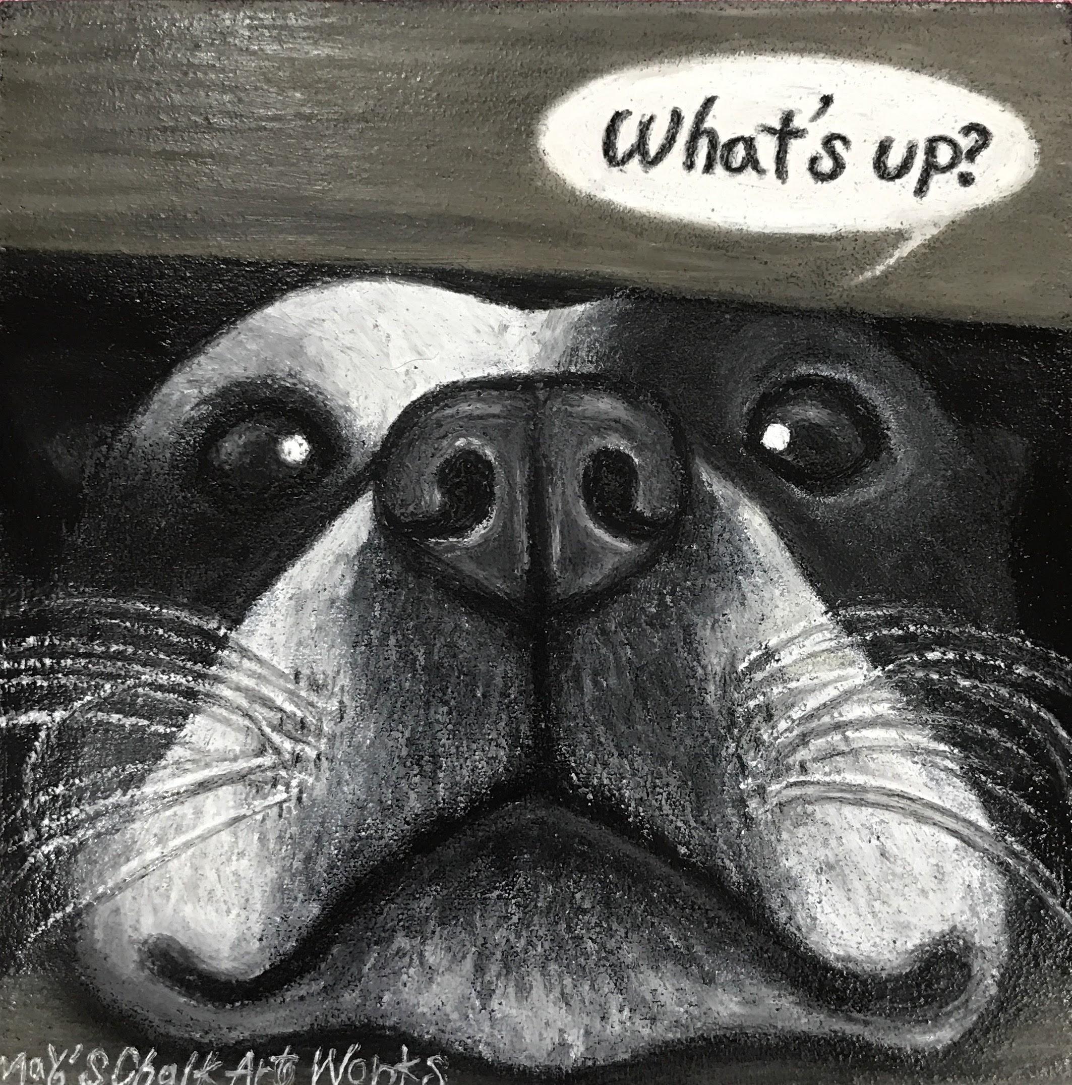 ペット犬似顔絵