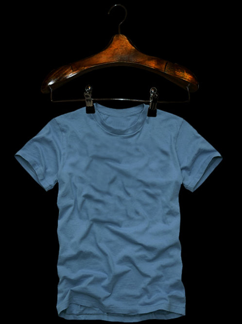 Tshirt Premium Azul Bebe