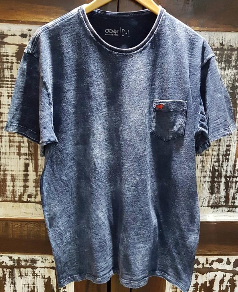 tshirt indigo rustica