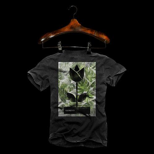 Tshirt Flor Green