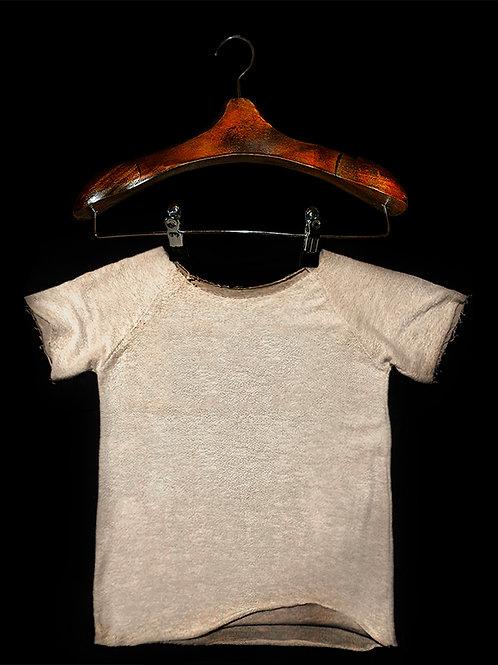 Tshirt Rustica Trançada Branca