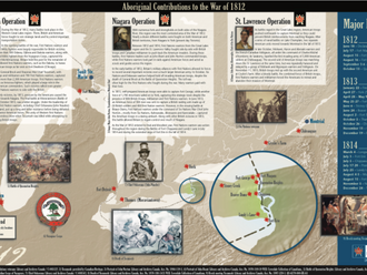 1812- First Nations are key contributors to defend against American invasion / Disease outbreaks gre