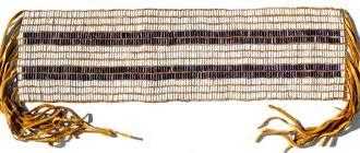 1613 - Two Row Wampum Treaty  between the Haudenosaunee and Dutch, establishing a basis for Indigeno