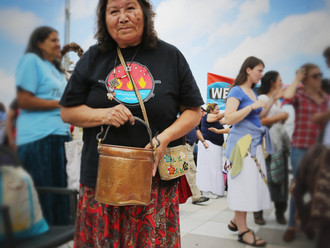 2003 - First Nations elder Josephine Mandamin and a group of Anishinaabe Women and Men came together