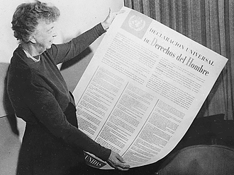 1948 - Canada signs the United Nations Universal Declaration of Human Rights